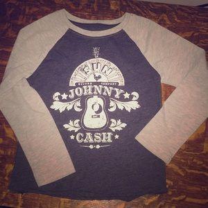 Other - Boys 5T long sleeve Johnny Cash T-shirt